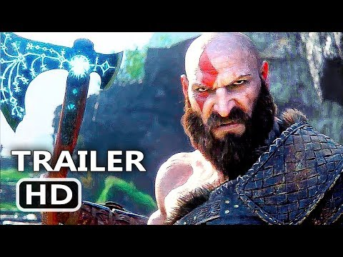 GOD OF WAR 4 Official Final Trailer (2018) Action Game HD