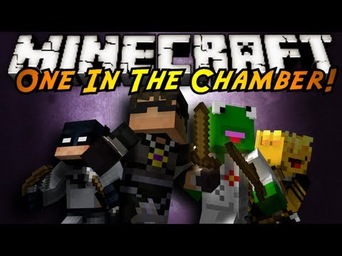 Minecraft Mini-Game : ONE IN THE CHAMBER!