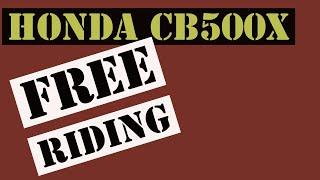 9. Free Riding the Honda CB500X (The Limit)