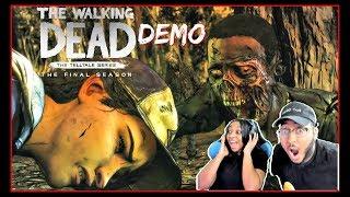 Telltale: THE WALKING DEAD FINAL SEASON DEMO GAMEPLAY!!!