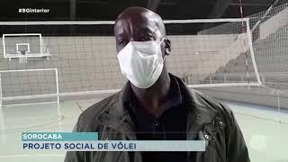 Ex-jogador da seleção de vôlei  comanda projeto social em Sorocaba