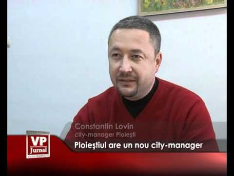 Ploieştiul are un nou city-manager