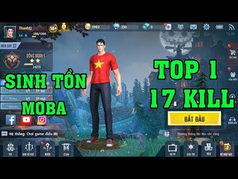Survival Heroes Việt Nam - Trang Phục Cờ Đỏ Sao Vàng Top 1 Với Cầu Pháp Sư 17 Kill - Thời lượng: 18:07.