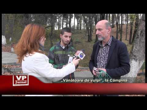 """""""Vanatoare de vulpi"""", la Campina"""