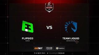 FlipSide vs Liquid, Main Qualifier, ELEAGUE Major: Boston 2018