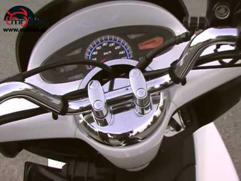 Honda PCX 125 test in Greek
