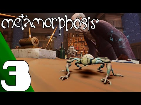 Metamorphosis - Full Game Gameplay Walkthrough Part 3 (No commentary)
