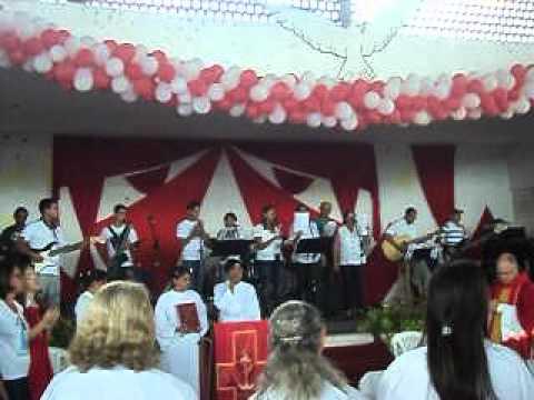 Dia de Pentecostes em Sanharó PE
