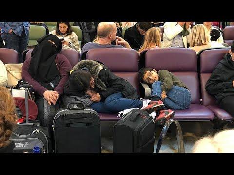 Ταλαιπωρία και αγανάκτηση στο αεροδρόμιο του Γκάτγουικ…