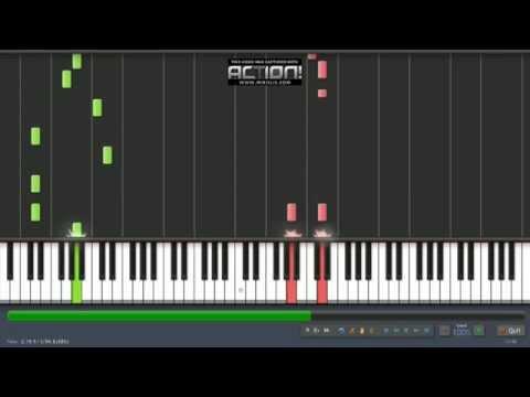 Enrique Iglesias – Bailando (Español) ft. Descemer Bueno, Gente De Zona piano tutorial Synthesia