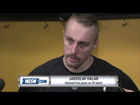 Video: Jaroslav Halak, Tuukka Rask react to Bruins' loss to Canucks