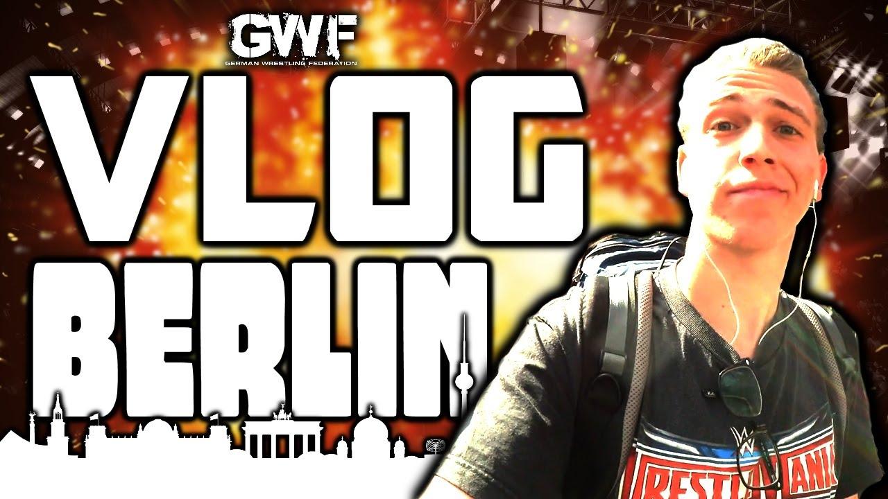 BERLINTRIP VLOG 2016 – Krasse Live-Wrestling-Acton bei GWF! (Deutsch/German)
