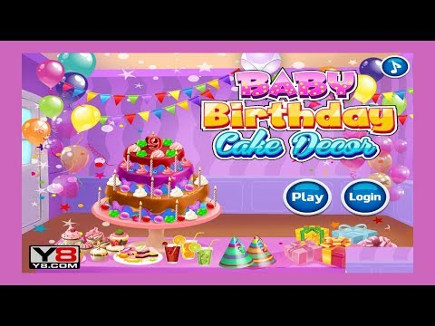Games For Kids || Ice Cream Sandwich Cake || Game Cake Y8 For Kids
