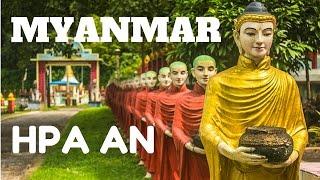 Mawlamyine Myanmar  city images : HPA AN & MAWLAMYINE, MYANMAR, INCREDIBLE BEAUTY