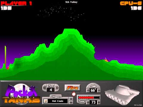 Best multiplayer pc game-Pocket tanks