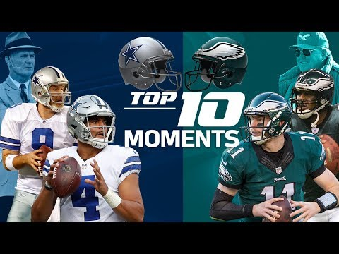 Video: Cowboys vs. Eagles: Top 10 Moments in the NFC East Rivalry | NFL Highlights