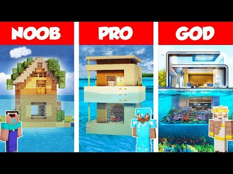 Minecraft NOOB vs PRO vs GOD: MODERN HOUSE ON WATER BUILD CHALLENGE in Minecraft / Animation - Thời lượng: 18:02.
