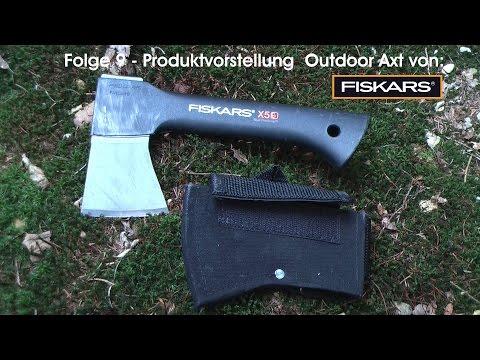 Fiskars X5 - Outdoor Axt - Camping Axt - Survival Axt