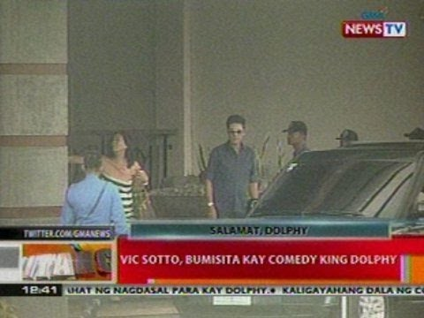 BT: Vic Sotto, bumisita kay comedy king Dolphy