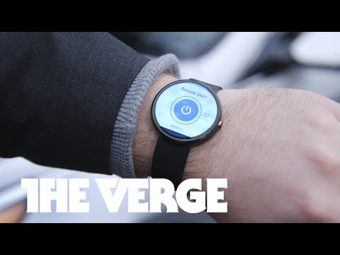 Hyundai's BlueLink smartwatch app starts your car — CES 2015