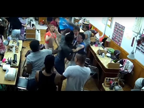 Nail Salon Visit Turns Into a Bloody Brawl In Brooklyn NY.