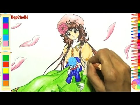 Vẽ Kabato Trong Phim Những Viên Kẹo Hạnh Phúc - How To Draw Kabato from Happy Candies