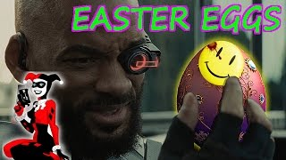 Suicide Squad Easter Eggs References and Cameos - Watchmen, Justice League And More