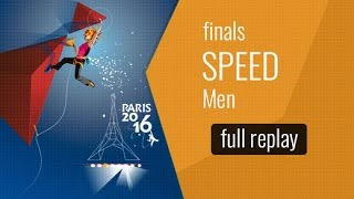 IFSC World Championships Paris 2016 - Vitesse - Finale - Hommes by International Federation of Sport Climbing