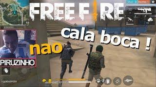 FINGINDO SER GAGO NO FREE FIRE