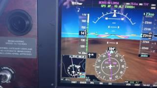 Flying @ FL230 On SR22T