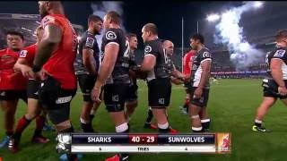 Sharks v Sunwolves Rd.17 2016 | Super Rugby Video HIghlights