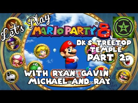 Let's - The AH Crew is back playing the second part to Let's Play - Mario Party 8: DK's Treetop Temple. RT Store: http://roosterteeth.com/store/ Rooster Teeth: http:...
