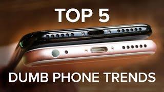 Video The dumbest trends in phones today (CNET Top 5) MP3, 3GP, MP4, WEBM, AVI, FLV Oktober 2018