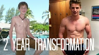 19 Year Old Motivational Teen Body Transformation | SKINNY TO SHREDDED