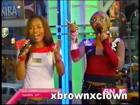 TLC - 3D TRL (3D Preview, Girl Talk video premier)