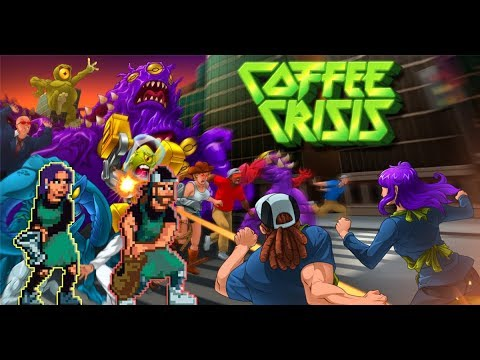The MOST Metal Beat em' Up! Coffee Crisis Gameplay