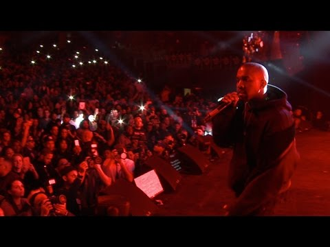 Kanye West Surprise Performance at Snoop/Puff Concert