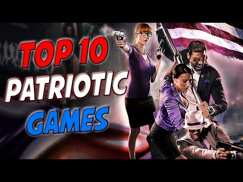 Top 10 PATRIOTIC VIDEO GAMES To Play On Independence Day / Fourth Of July