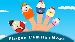 Finger Family | Wheels on the bus | ABC Train song | plus more