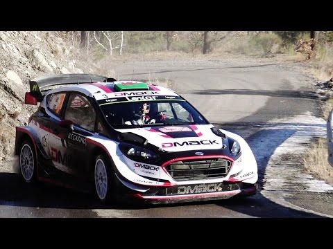 wrc rally montecarlo 2017 - day 3: neuville sbaglia, ogier al comando