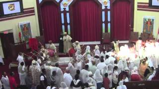 Good Friday Mirate, Werub,&Mezmur @ St. Mary Ethiopian Orthodox Tewahedo Cathedral (May 3, 2013)