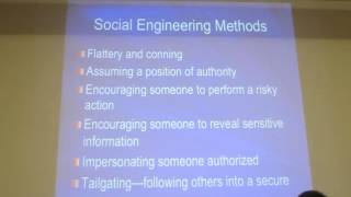 Sam's Network Security Class - Tues 03/12/2013 - Malware and Social Engineering