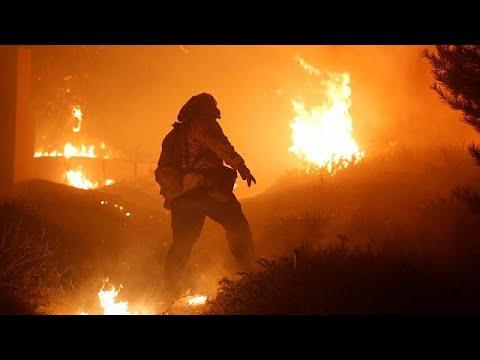 Λος Άντζελες: Πύρινος εφιάλτης χωρίς τέλος- Τουλάχιστον 1 νεκρός