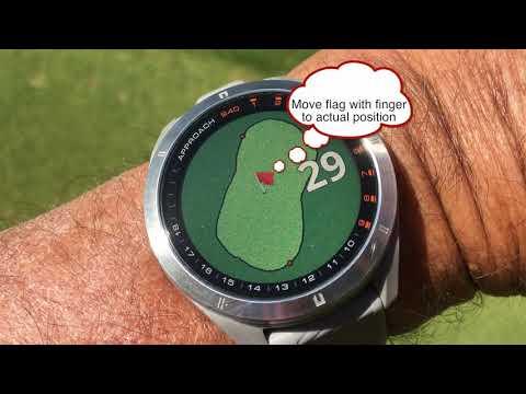 Testing the Garmin Approach S40 golf watch - on a golf course