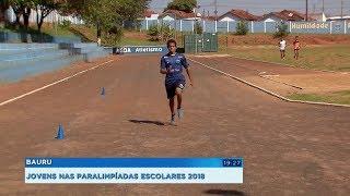 Jovens representam a região nas Paralimpíadas Escolares 2018