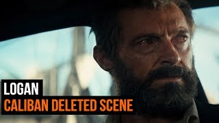Check out this delete scene from Logan.  LOGAN, is available on Digital Download on 24th June and Blu-ray™ and DVD from 10th July, from Twentieth Century Fox Home Entertainment. For more from GamesRadar Subscribe: http://goo.gl/cnjsn1Spoilers belowCaliban Death: Logan (Hugh Jackman) rescues Laura (Dafne Keen) from Dr. Rice (Richard E. Grant) as he watches Caliban (Stephen Merchant) crawl from the blazing truck and die.http://www.gamesradar.comhttp://www.facebook.com/gamesradarhttp://www.twitter.com/gamesradarhttp://www.twitch.tv/gamesradar