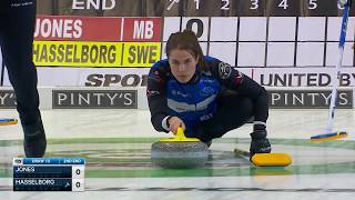 Hasselborg makes tricky tap for two points image