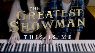 Video THIS IS ME - The Greatest Showman OST (4hands piano) MP3, 3GP, MP4, WEBM, AVI, FLV Januari 2018
