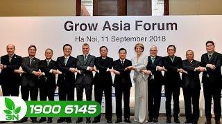 Nông nghiệp | Diễn đàn Tăng trưởng châu Á 2018: Nhiều vấn đề nông nghiệp được thảo luận