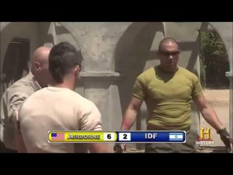 IDF vs Army Knife Fight